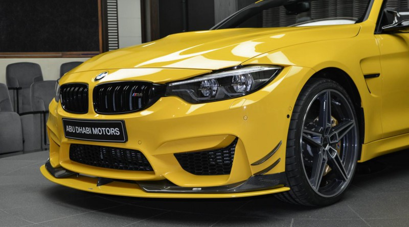 Speed Yellow BMW M4