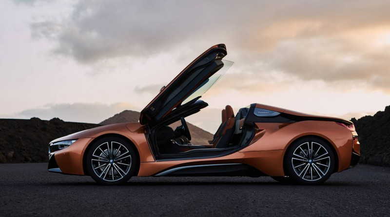 New BMW i8 Roadster