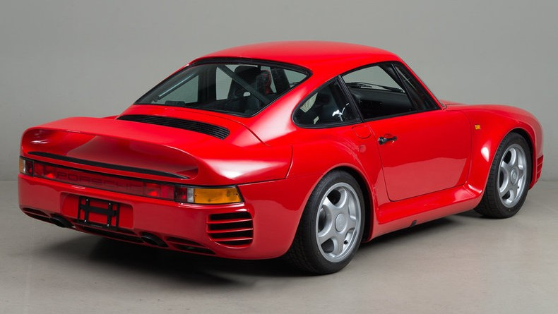 Guards Red Porsche 959 Sport