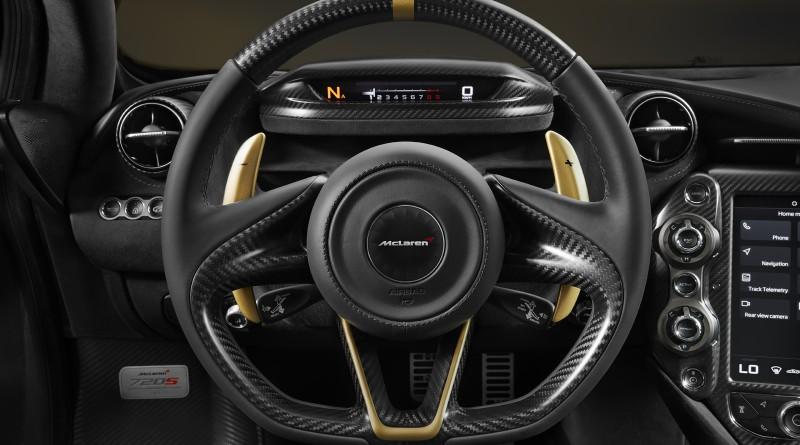 McLaren 720S MSO Steering Wheel