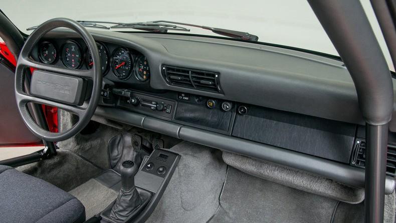 1988 Porsche 959 Sport Interior