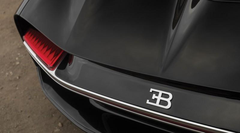 Rear Bugatti Chiron