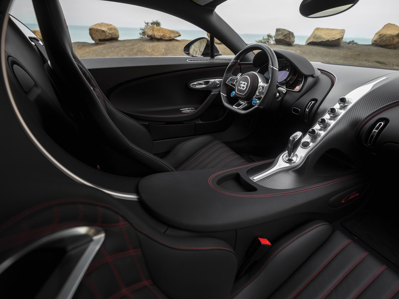 First Us Spec Bugatti Chiron Heads To Auction Supercar
