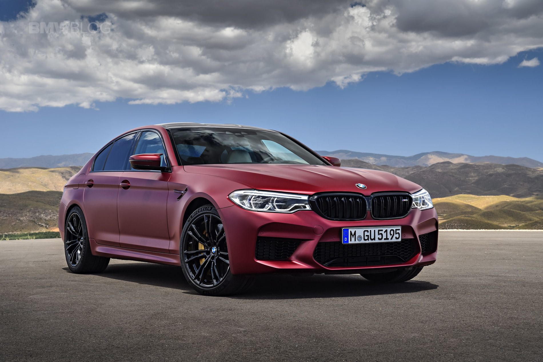 Frozen Red 2018 Bmw M5 Supercar Report