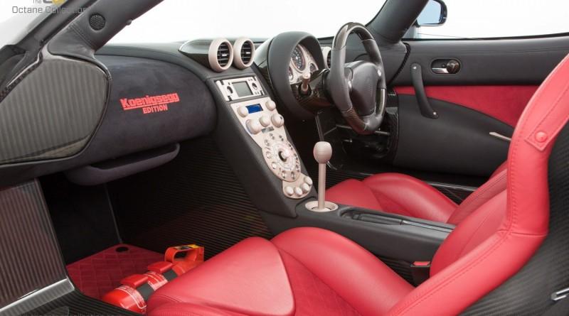 Koenigsegg CCXR Edition Interior