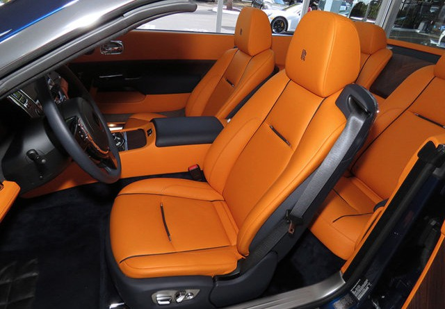 Rolls Royce Dawn Seats