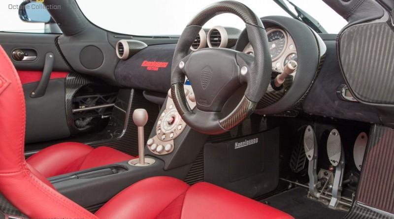 Koenigsegg CCXR Edition Red Leather