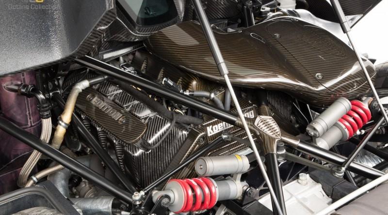 Koenigsegg CCXR Edition Engine