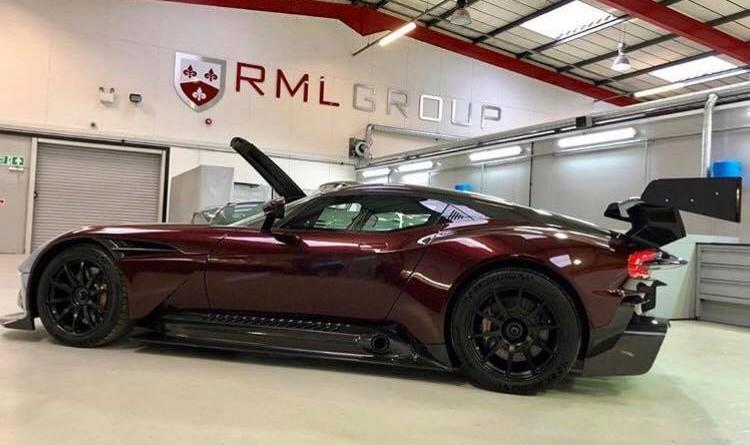 Road Legal Aston Martin Vulcan