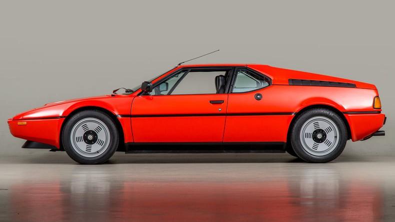 Henna Red 1980 BMW M1