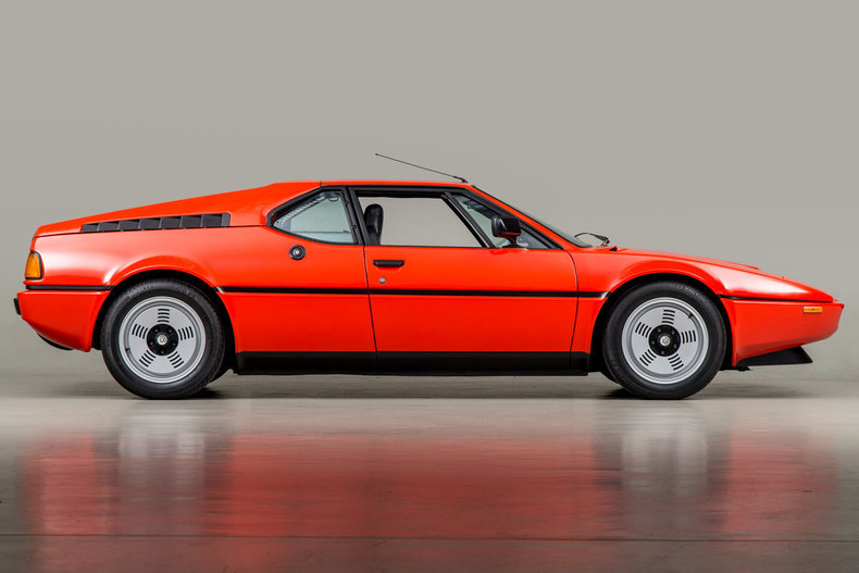 Henna Red 1980 Bmw M1 For Sale Supercar Report