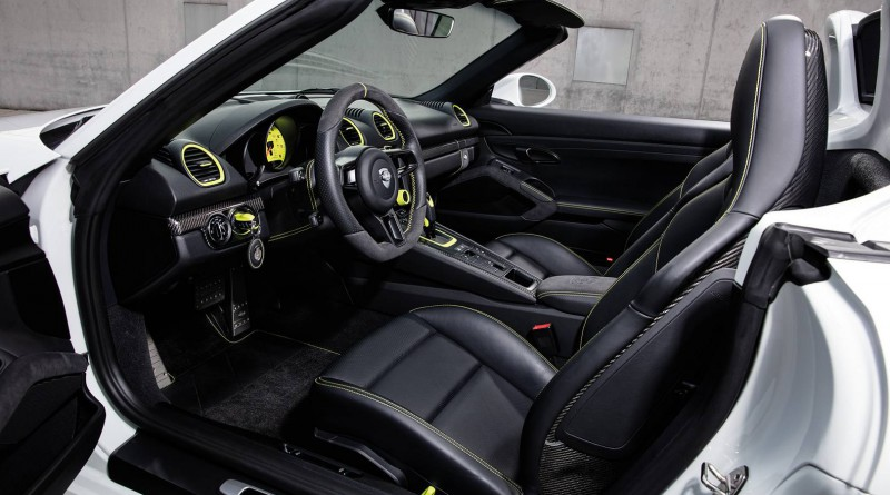 TechArt Porsche 718 Boxster Interior