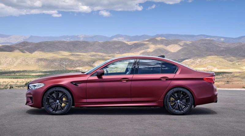 Frozen Red 2018 BMW M5