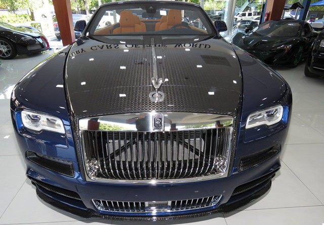 Rolls Royce Dawn by Mansory