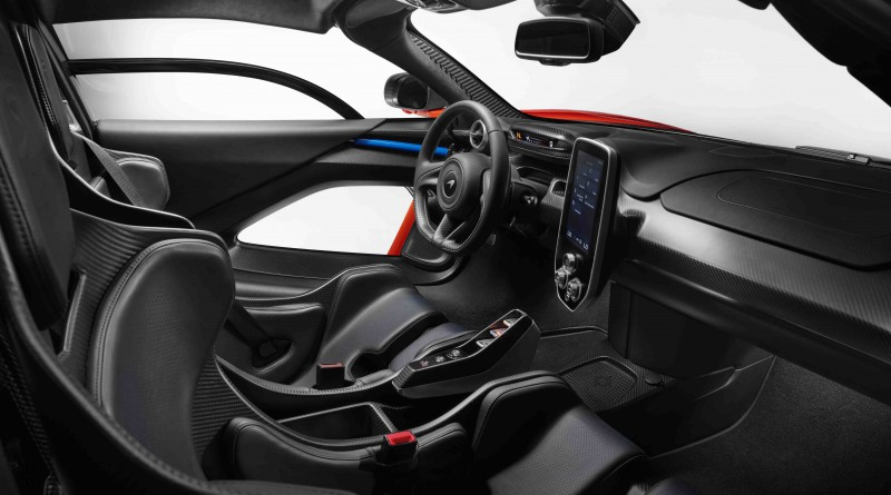 McLaren Senna Interior
