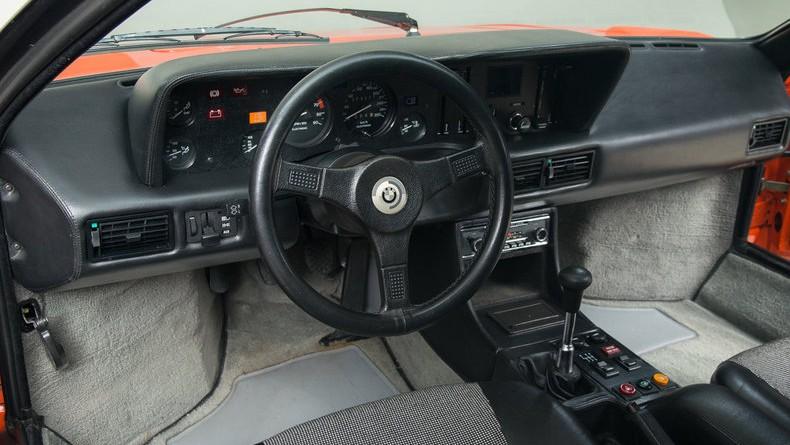 1980 BMW M1 Interior