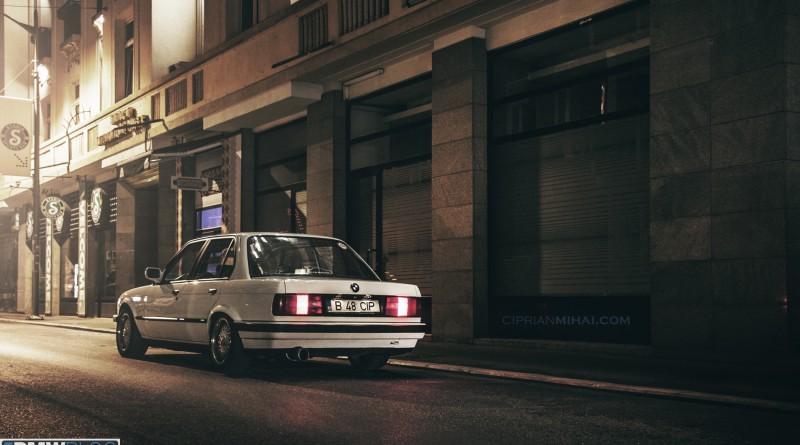 Alpine Weiss BMW 316i