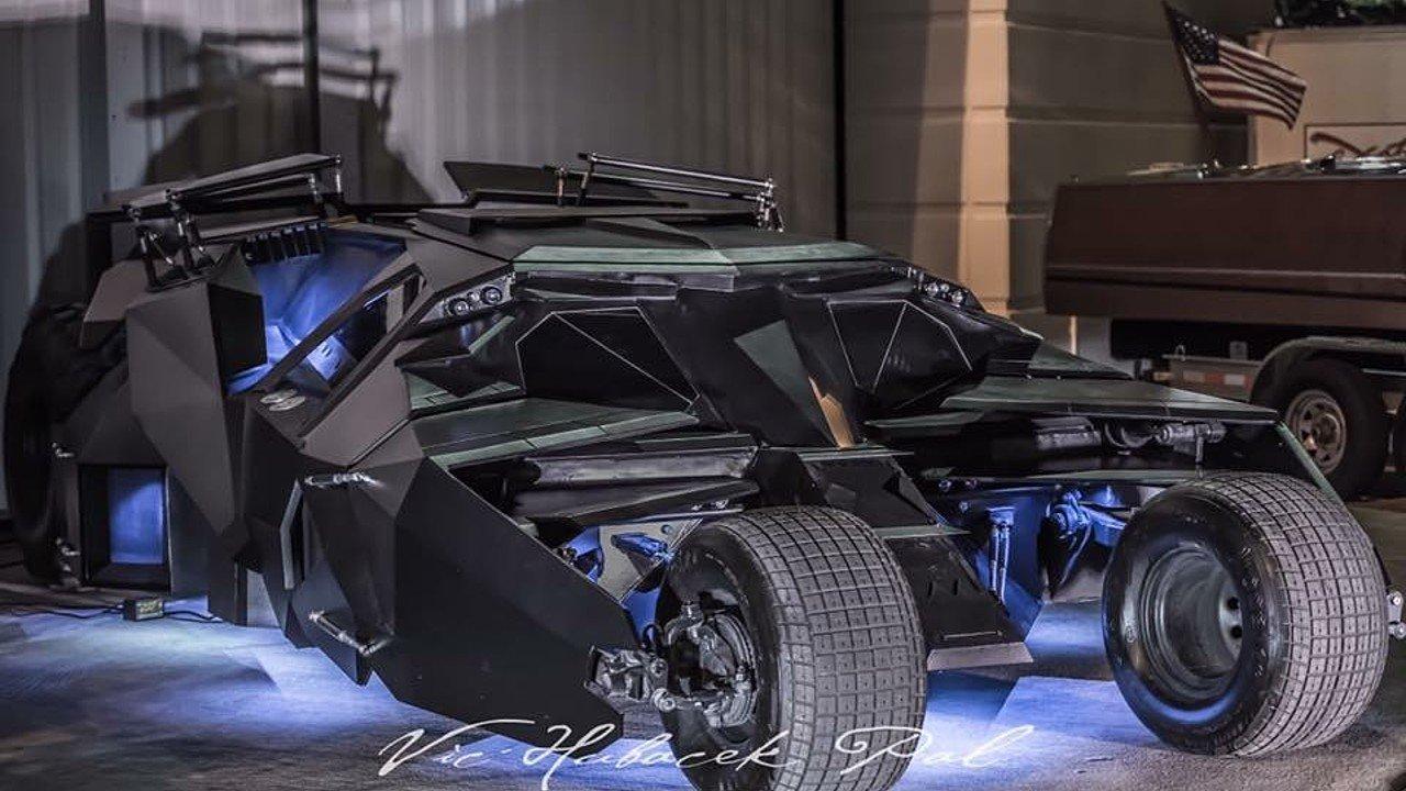 Carbon Fiber Car Mobile Garage : Carbon fiber tumbler batmobile replica for sale supercar