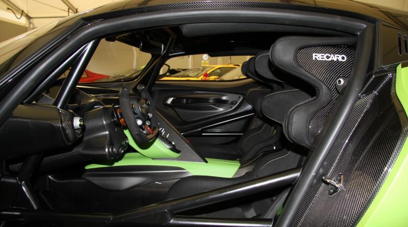 Aston Martin Vulcan Interior