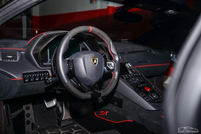 2017 Lamborghini Aventador Interior