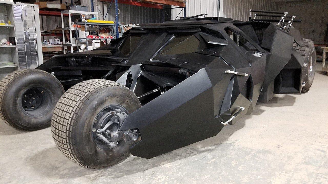 Carbon Fiber Tumbler Batmobile Replica For Sale Supercar Report