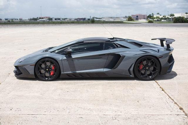 Grigio Telesto Lamborghini Aventador