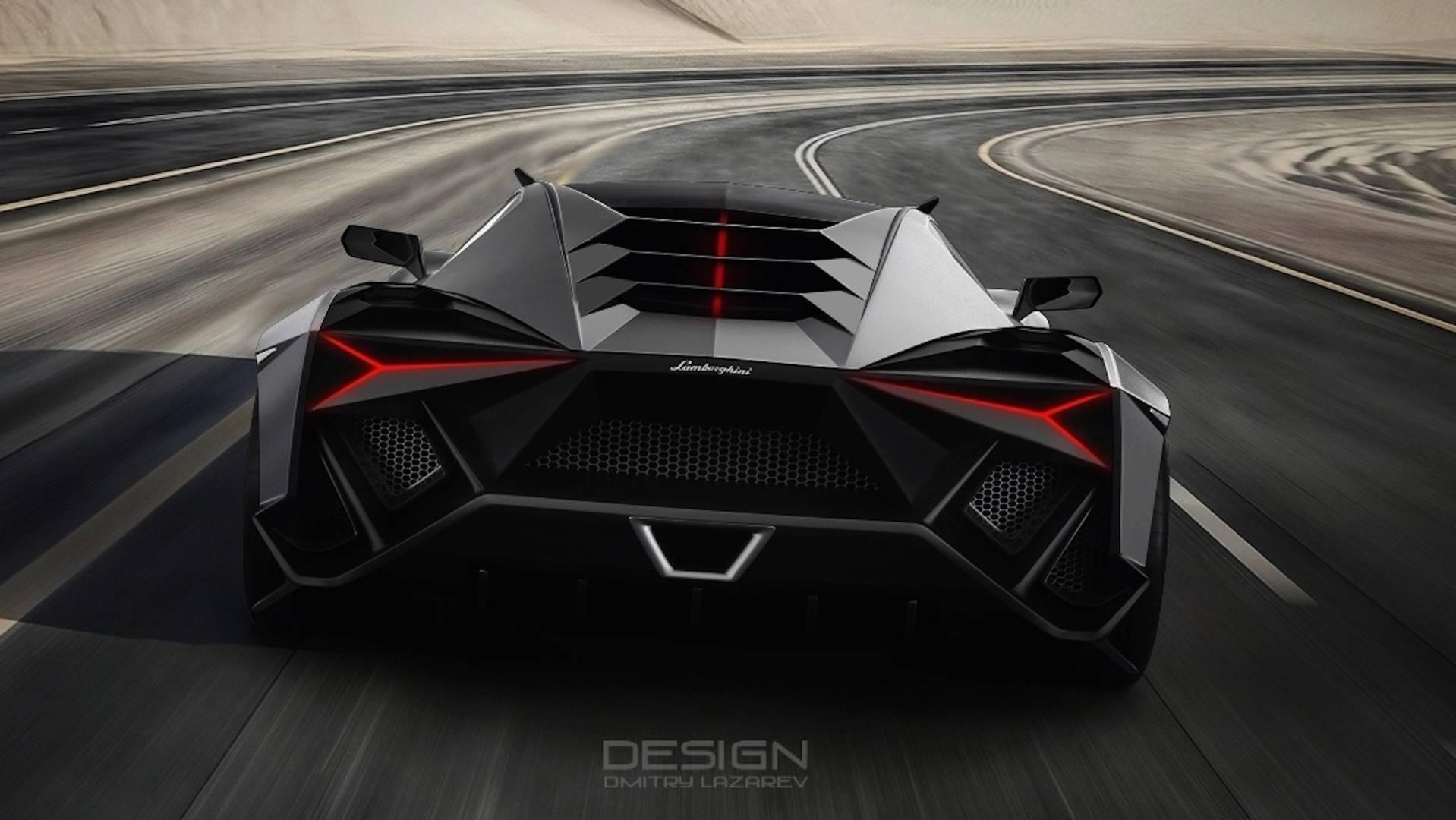 The Lamborghini Forsennato Hypercar Concept | Supercar Report