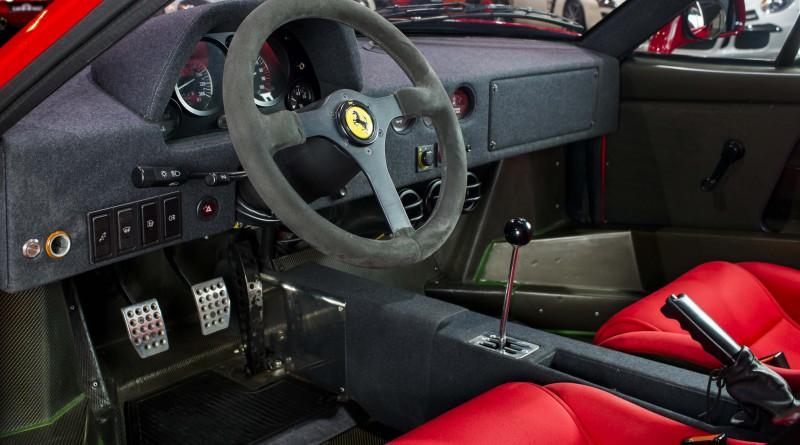 1991 Ferrari F40 Interior