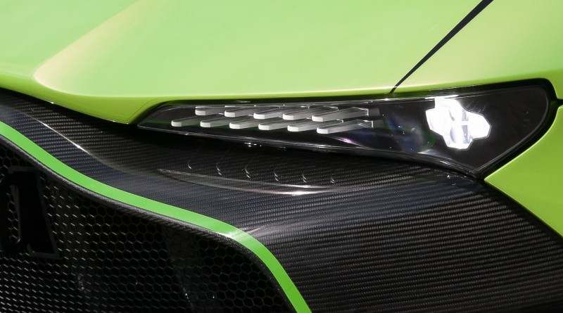 Aston Martin Vulcan Head Light
