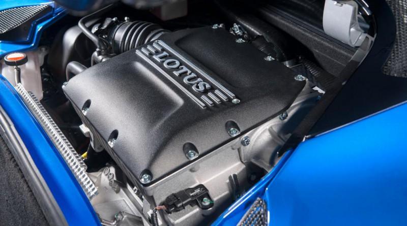 2018 Lotus Evora GT410 Sport Engine