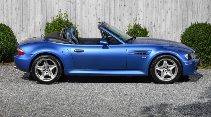 Estoril Blue BMW M Roadster For Sale