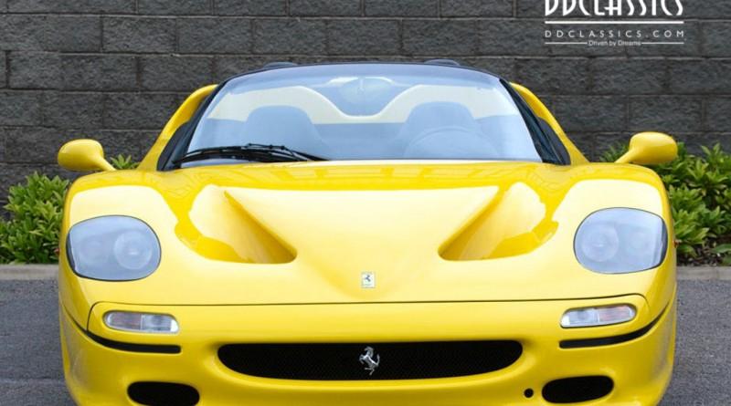 Giallo Modena Ferrari F50