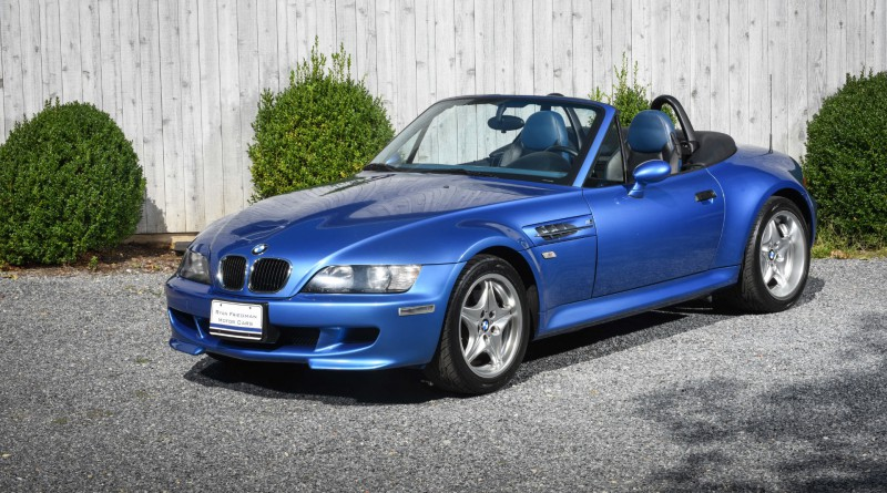 Estoril Blue 1999 BMW M Roadster