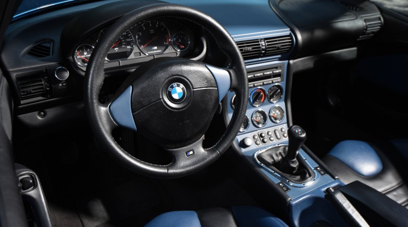 BMW M Roadster Interior