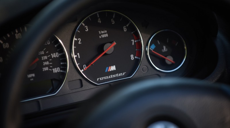 BMW M Roadster Speedometer