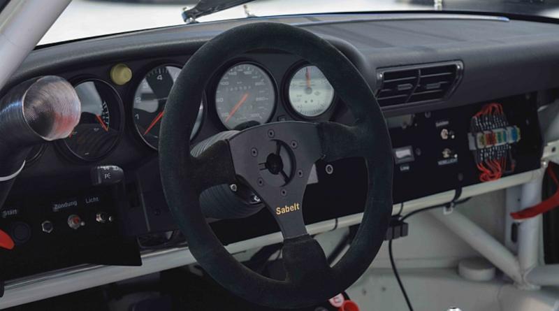Porsche GT2 Race Car Dashboard