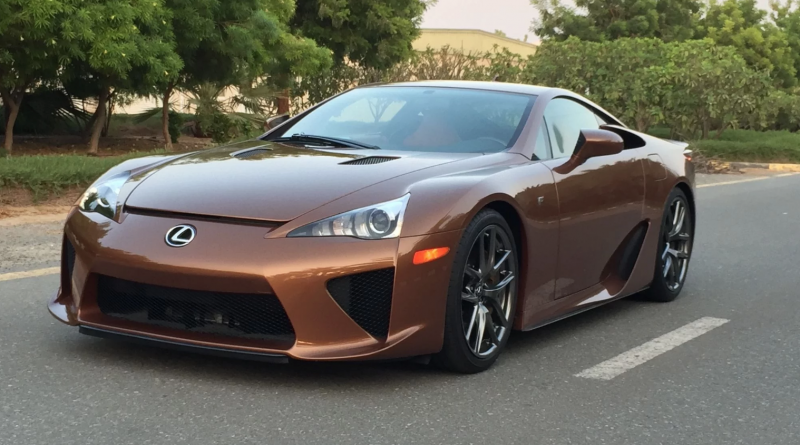 Brown Lexus LFA For Sale