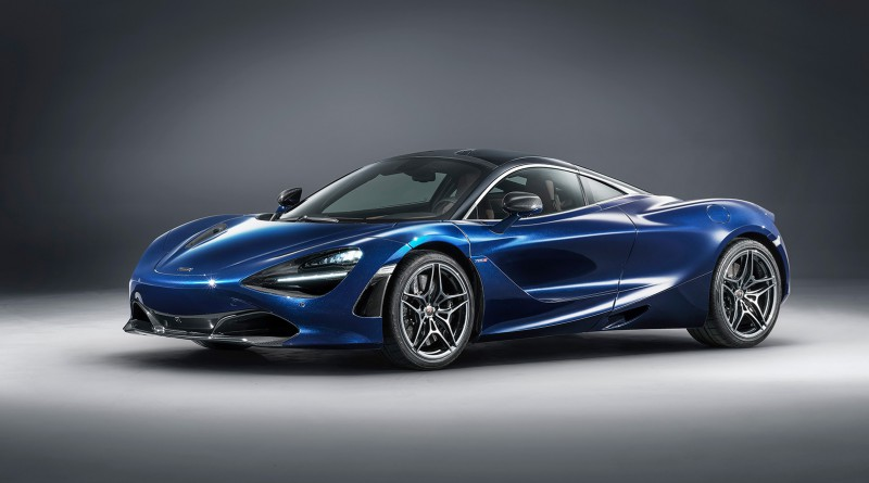 Atlantic Blue McLaren 720S