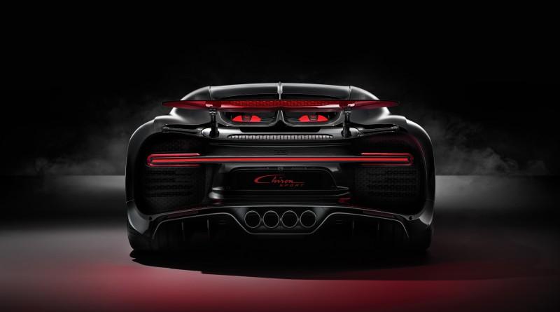 Bugatti Chiron Sport Rear