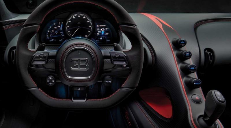 Bugatti Chiron Sport Dashboard