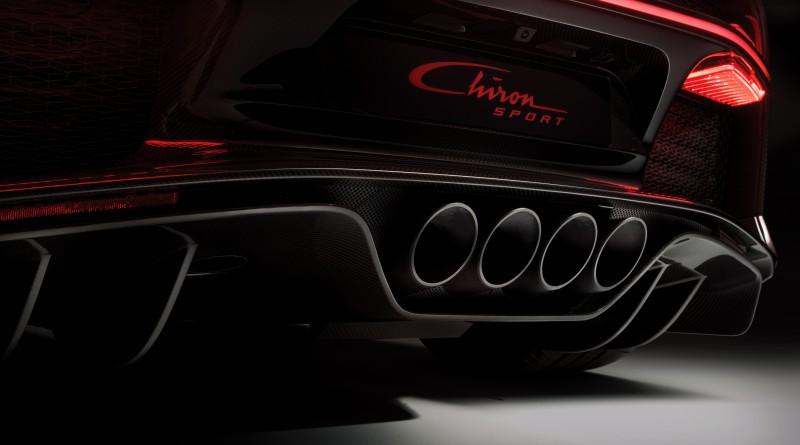 Bugatti Chiron Sport Exhaust