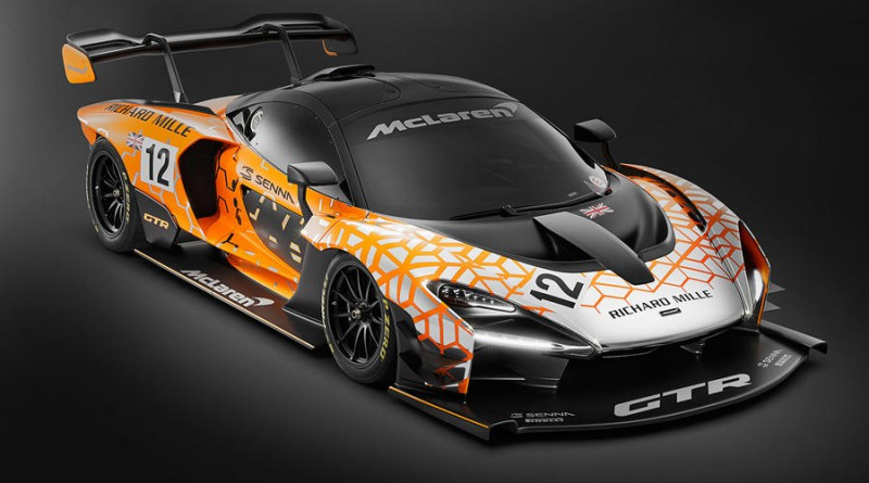 McLaren Senna GTR Race Car