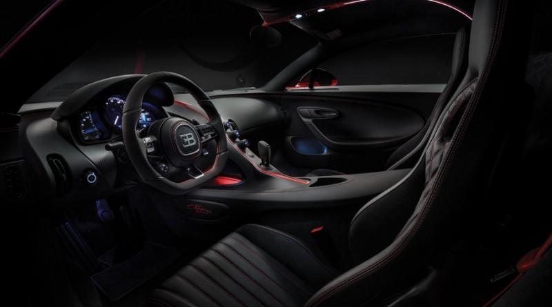 Bugatti Chiron Sport Interior