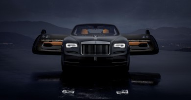 Rolls-Royce Wraith Luminary Collection Revealed