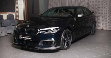 BMW M550i Equipped With AC Schnitzer Package