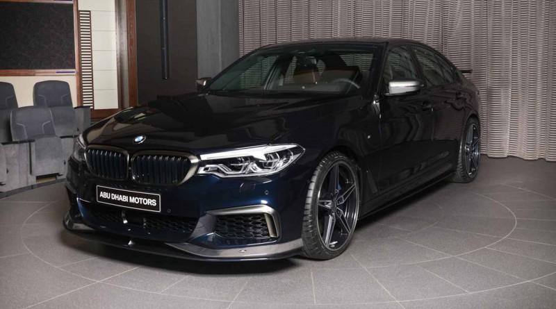 Dark Blue AC Schnitzer BMW M550i