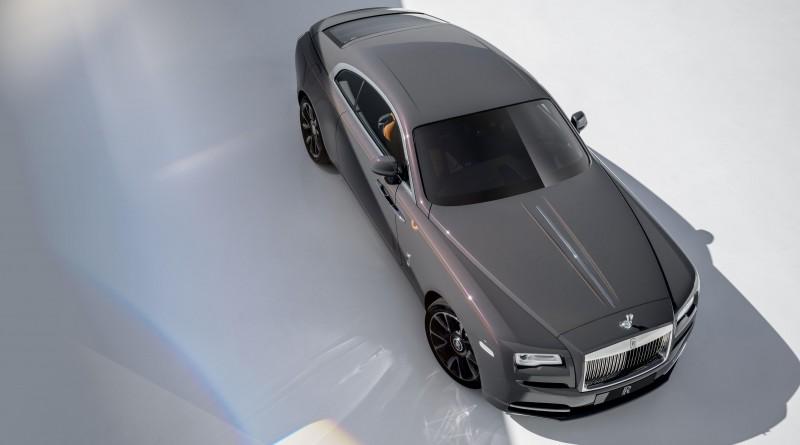 Sunburst Grey Rolls Royce Wraith