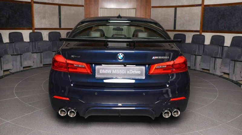 BMW M550i Exhaust