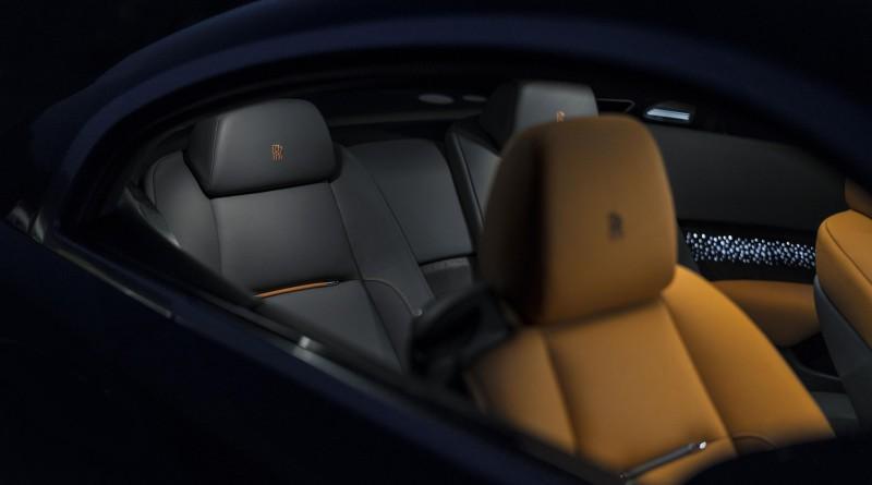 Rolls Royce Wraith Seats