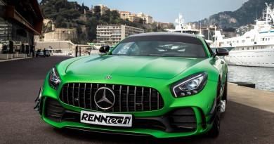 Powerful Renntech Tuned Mercedes-AMG GT R